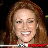 Angie Everhart  Actrice