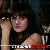Claudine Beccarie  Actrice