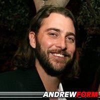 Andrew Form  Producteur, Producteur exécutif