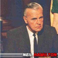 Neil Hamilton  Acteur