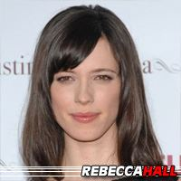Rebecca Hall  Actrice