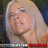 Kirsten Walraad  Actrice