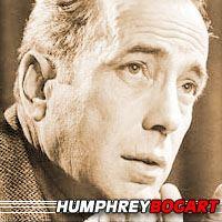 Humphrey Bogart  Acteur