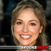 Brooke Nevin  Actrice