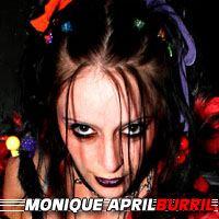April Monique Burril  Actrice