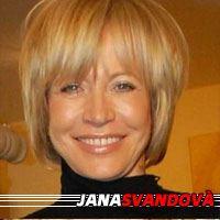Jana Svandová  Actrice