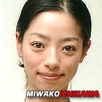 Miwako Ichikawa  Actrice