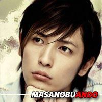 Masanobu Ando  Actrice