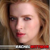 Rachel Wittman  Actrice