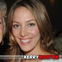 Kerry Norton  Auteure, Actrice