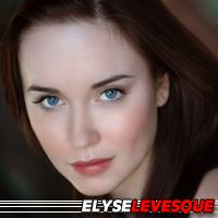 Elyse Levesque  Actrice