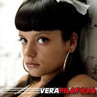 Vera Filatova  Actrice