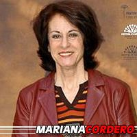 Mariana Cordero  Actrice