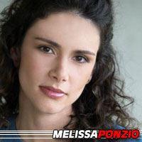 Melissa Ponzio  Actrice