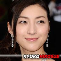 Ryoko Hirosue  Actrice