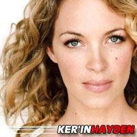 Ker'in Hayden  Actrice