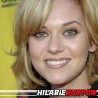 Hilarie Burton  Actrice