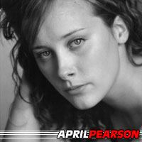 April Pearson  Actrice