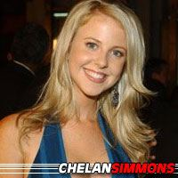 Chelan Simmons  Actrice