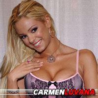 Carmen Luvana  Actrice