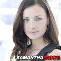 Samantha Facchi  Actrice