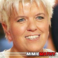 Mimie Mathy  Actrice