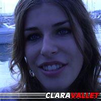 Clara Vallet  Actrice