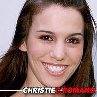Christie Carlson Romano  Actrice