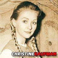 Christine Kaufmann  Actrice