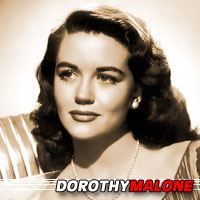 Dorothy Malone  Actrice