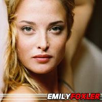 Emily Foxler  Actrice