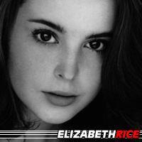 Elizabeth Rice  Actrice