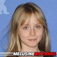 Mélusine Mayance  Actrice