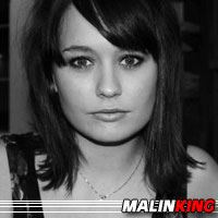 Malin King  Actrice