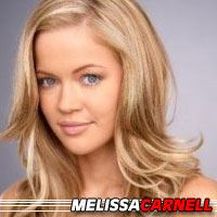 Melissa Carnell  Actrice