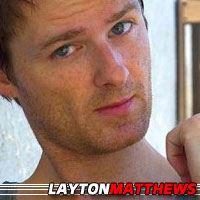 Layton Matthews  Acteur