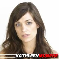 Kathleen Munroe  Actrice