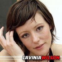 Lavinia Wilson  Actrice