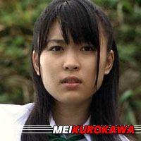 Mei Kurokawa  Actrice