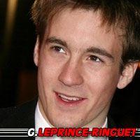 Grégoire Leprince-Ringuet  Acteur
