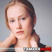 Tamara Hope  Actrice