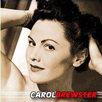 Carol Brewster  Actrice