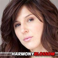 Harmony Blossom  Actrice