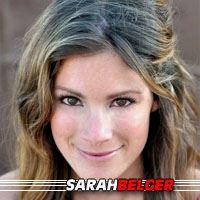 Sarah Belger  Actrice