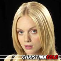 Christina Cole  Actrice