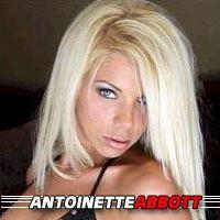 Antoinette Abbott  Actrice