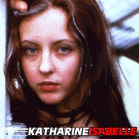 Katharine Isabelle  Actrice