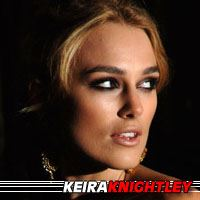Keira Knightley  Actrice, Doubleuse (voix)