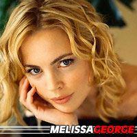 Melissa George  Actrice