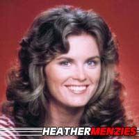Heather Menzies  Actrice